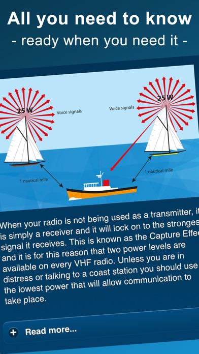 VHF DSC Radio screenshot four