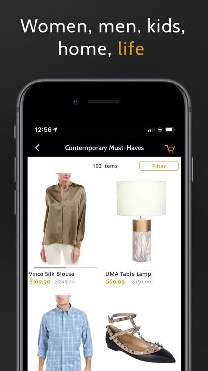 Gilt - Shop Designer Sales screenshot-4