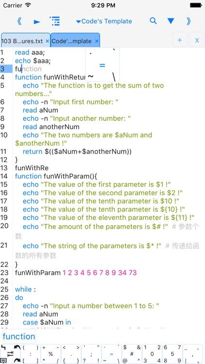 bashi$ - programming language
