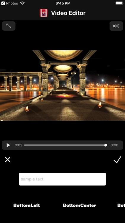 Video Editor & iVideo Maker screenshot-3