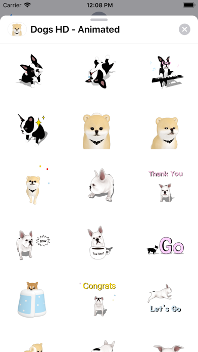 Dogs HD - Animated screenshot 1