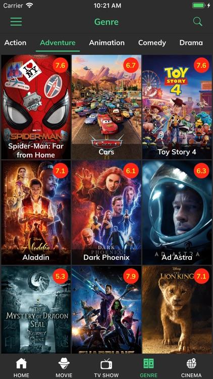 HD Movies - Play Movie Trailer screenshot-3