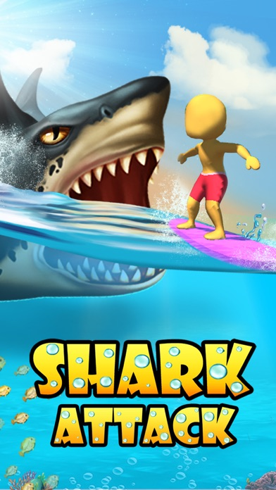 Shark Attack -Simulator games screenshot 5