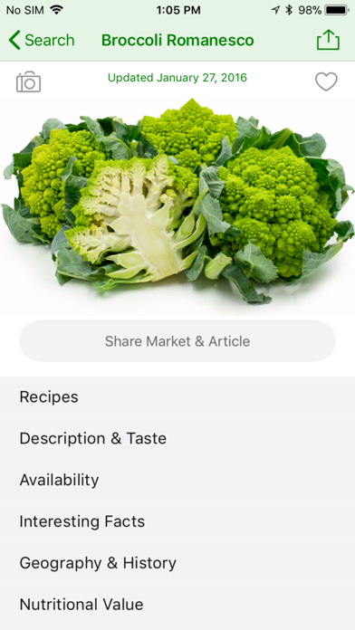 Specialty Produce review screenshots