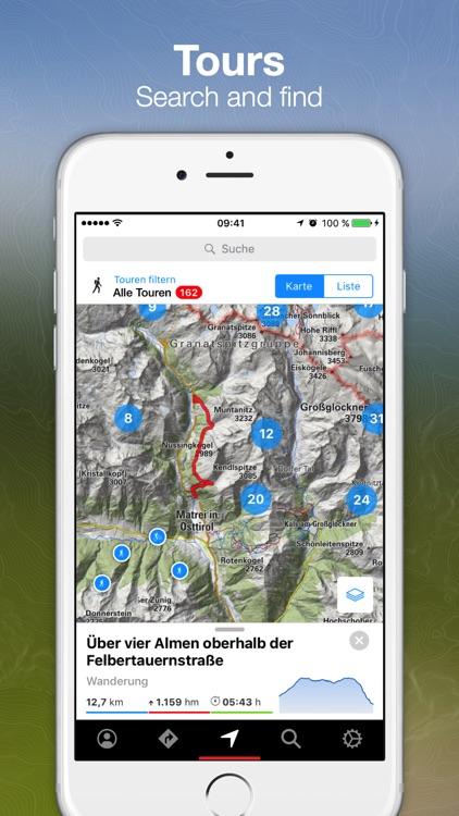 bergfex Tours & GPS Tracking screenshot-0