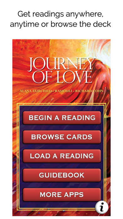 Screenshot for Journey of Love Oracle in United States App Store
