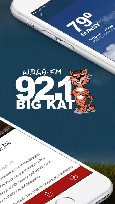 WDLA 92.1 (WDLA-FM) screenshot two