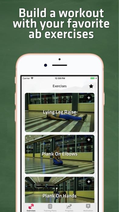 Core & Abs Workout For Women screenshot two