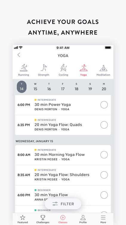 Peloton — at home fitness screenshot-9