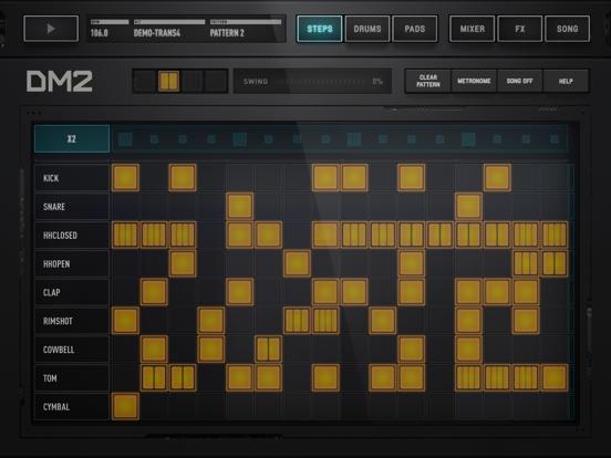 Screenshot #4 pour DM2 - The Drum Machine