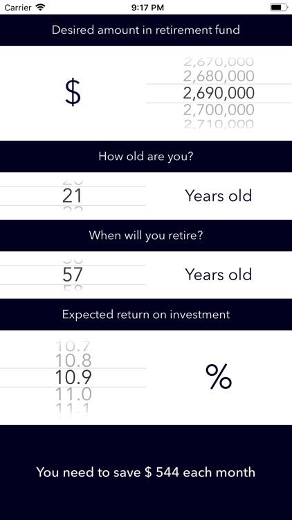 Retirement Planner + screenshot-5