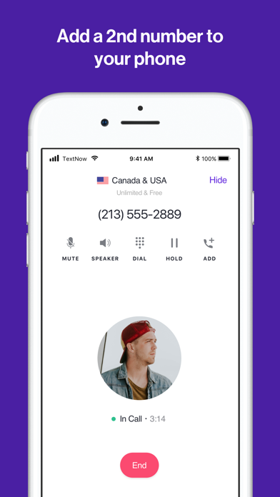 download TextNow: Call + Text Unlimited apps 1