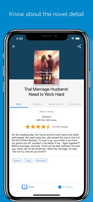 NovelFull - Read novel offline on the App Store