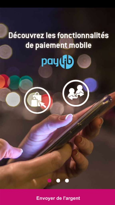 CMSO Paiements Mobile screenshot one