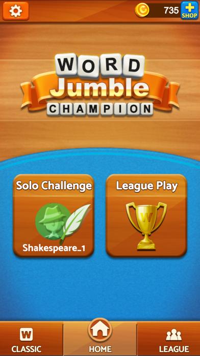 Word Jumble Champion på PC