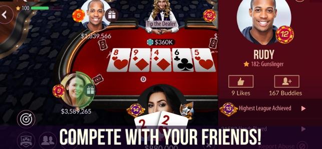 Zynga Poker Texas Holdem On The App Store