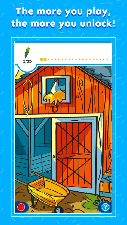 Hidden Pictures Puzzle Play screenshot-4