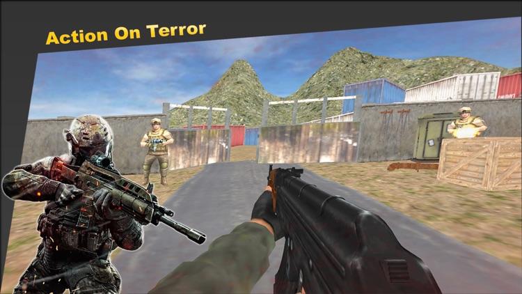 Commando strike Gun Shooter screenshot-6
