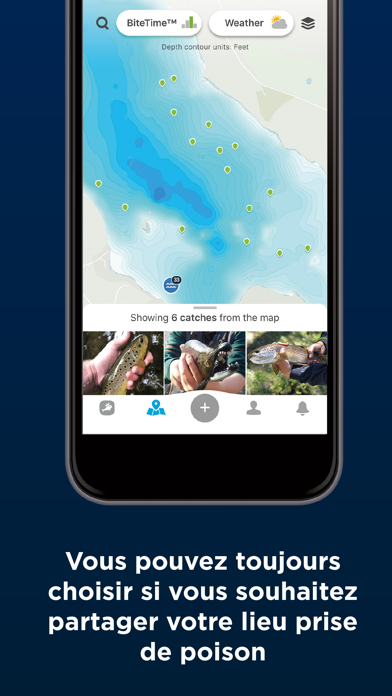 Screenshot #3 pour Fishbrain - Fishing App