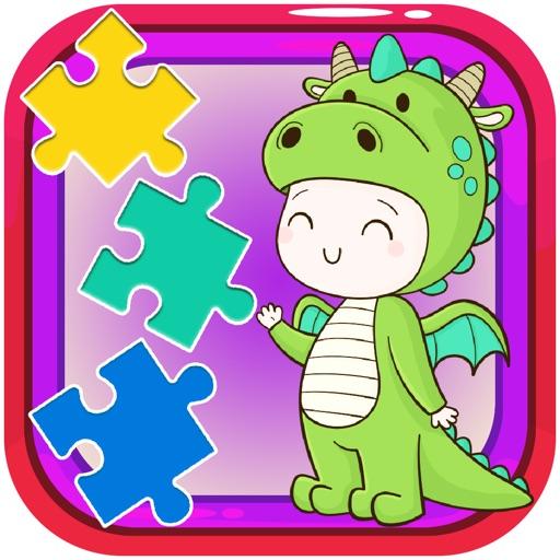 Cartoon jigsaw puzzles game
