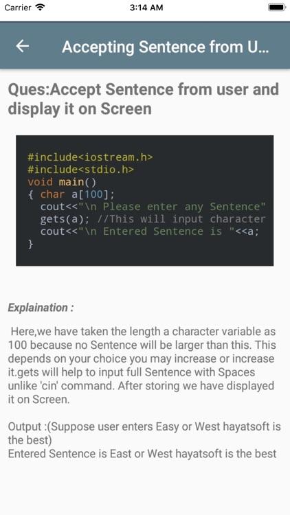 Learn basic C Plus Plus screenshot-9