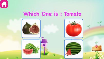 Kids Learn Veggies and Fruits screenshot four