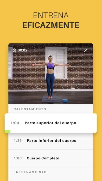 Screenshot for Yoga-Go: Ejercicios en Casa in Spain App Store