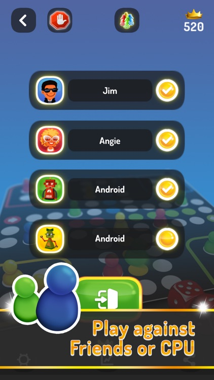 Ludo Trouble - Family Parchis screenshot-4