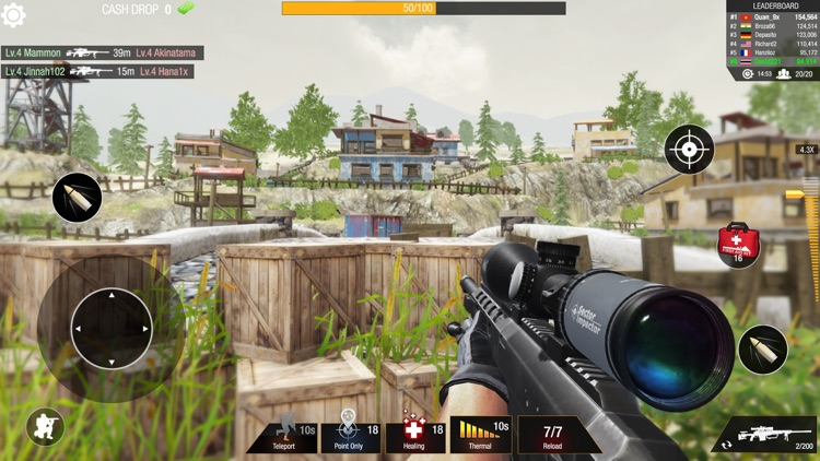 Bullet Strike: Sniper 3D PvP screenshot-3