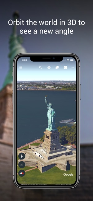 82db39ddc47 Google Earth on the App Store