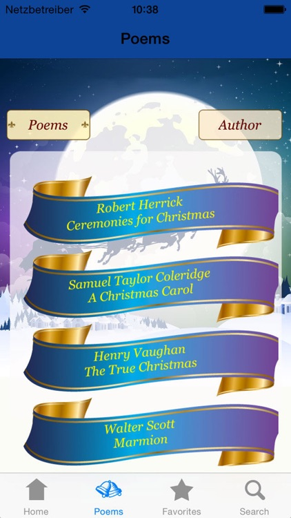 222 Holiday & Christmas Poems screenshot-3
