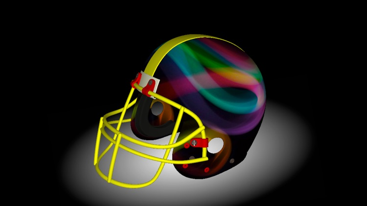 Football Helmet 3D