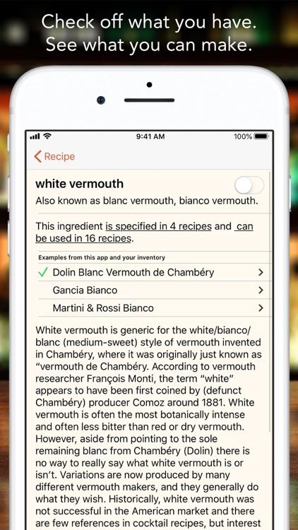Martin's Index of Cocktails screenshot-3