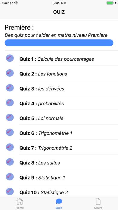 Cours de Maths screenshot 4