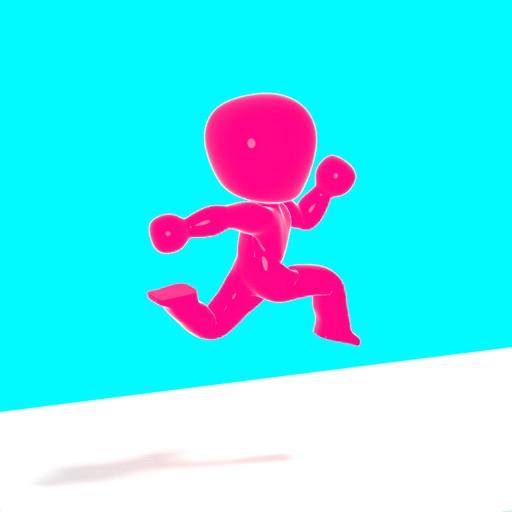 Button Run 3D