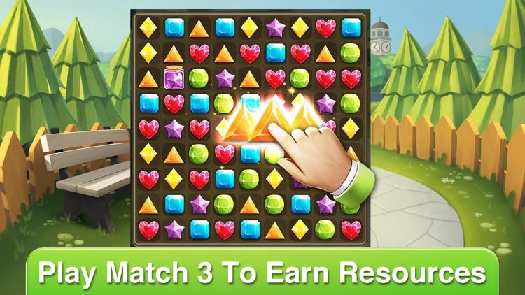 Mystery Island: Decor & Match3 screenshot-4