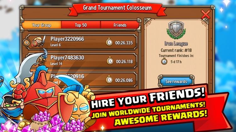 Crazy Kings:Hero Tower Defense screenshot-3