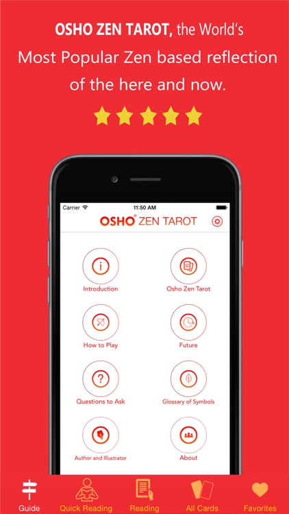 Osho Zen Tarot screenshot-0