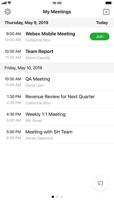 Screenshot for Cisco Webex Meetings in Estonia App Store