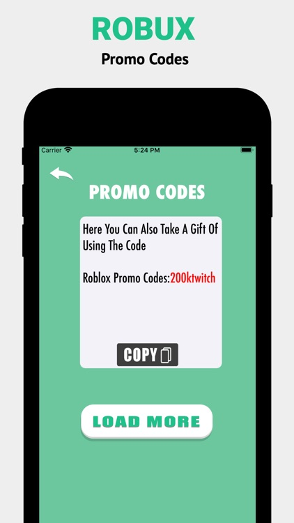Robux Promo Codes For Roblox screenshot-3
