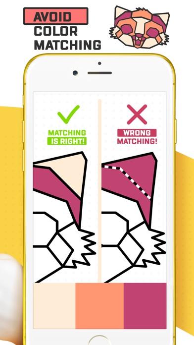 Trio - Polygon Coloring Puzzle screenshot 2
