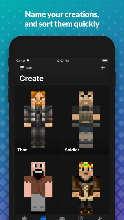 Skin Creator: for Minecraft PE screenshot-4