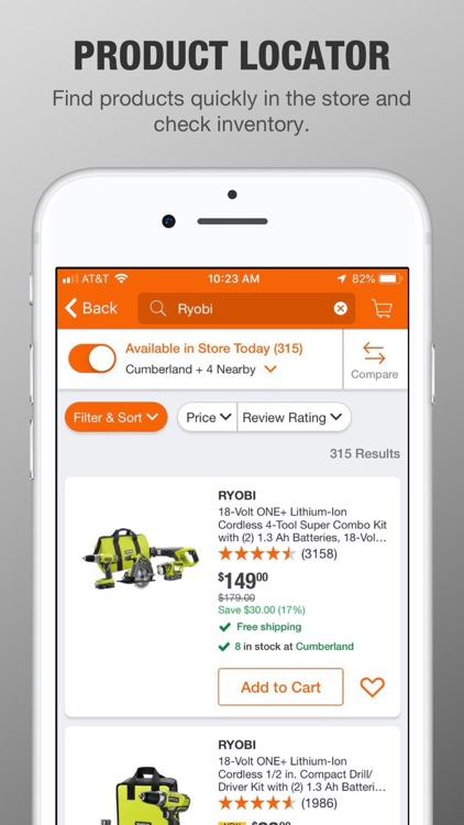 The Home Depot screenshot-2