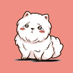 Small Pomeranian Stickers
