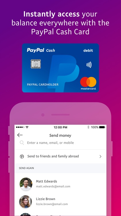PayPal: Mobile Cash screenshot-4