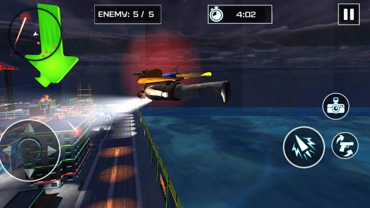 Jetpack City Criminal Fighter screenshot-4