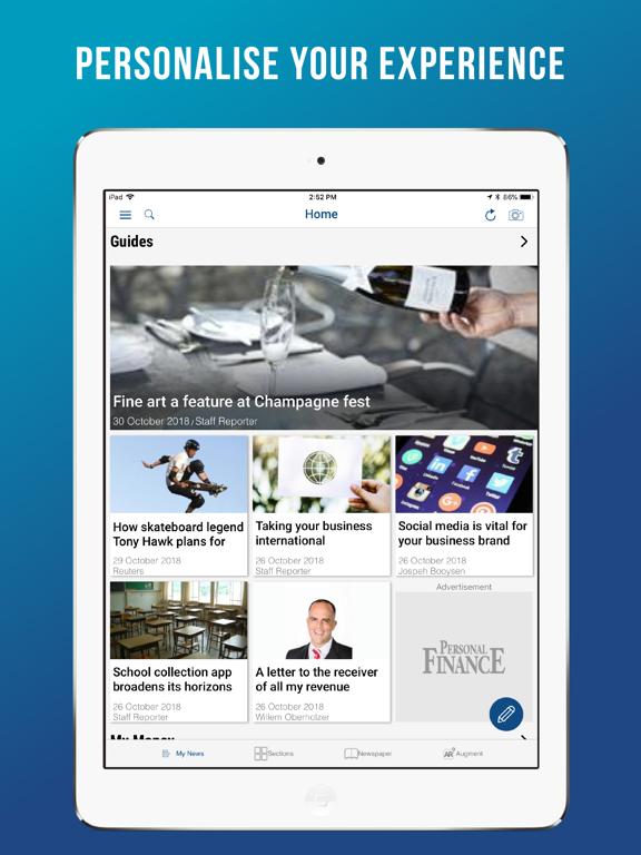 iPad Image of Personal Finance SA