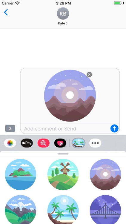 Nature - Stickers Pack screenshot-5