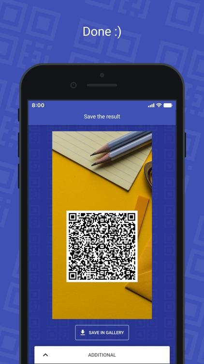 QR Card - business card screenshot-6