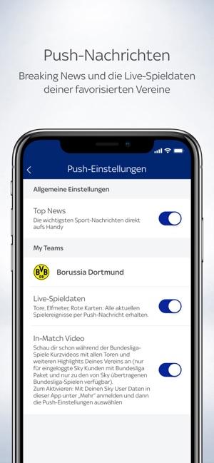 Sky Sport Fussball News Mehr Im App Store